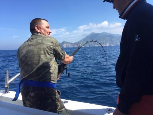 Totani giganti 700 metrideep sea fishing