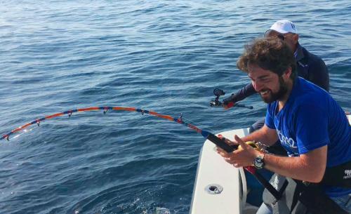 Drifting al tonno rosso gigante